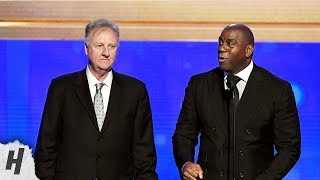 Magic Johnson & Larry Bird - Lifetime Achievement Award - 2019 NBA Awards