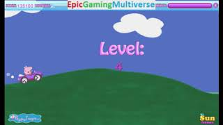 Peppa Pig Car Race Level 4 WalkThrough Gameplay - Driving A Car As Peppa Pig
