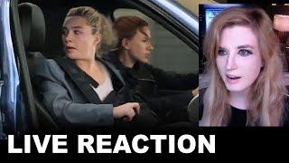 "Black Widow Clip REACTION - MTV Movie Awards ""You Got a Plan?"""