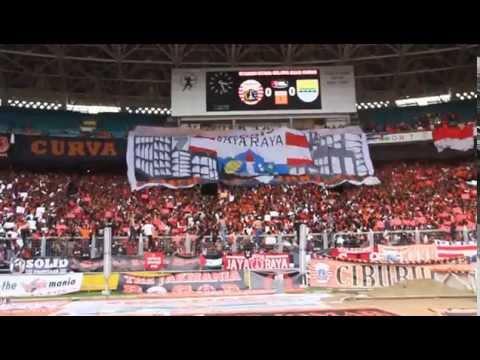 Coreo Curva Nord Persija Persija vs Persib 10 Agustus 2014