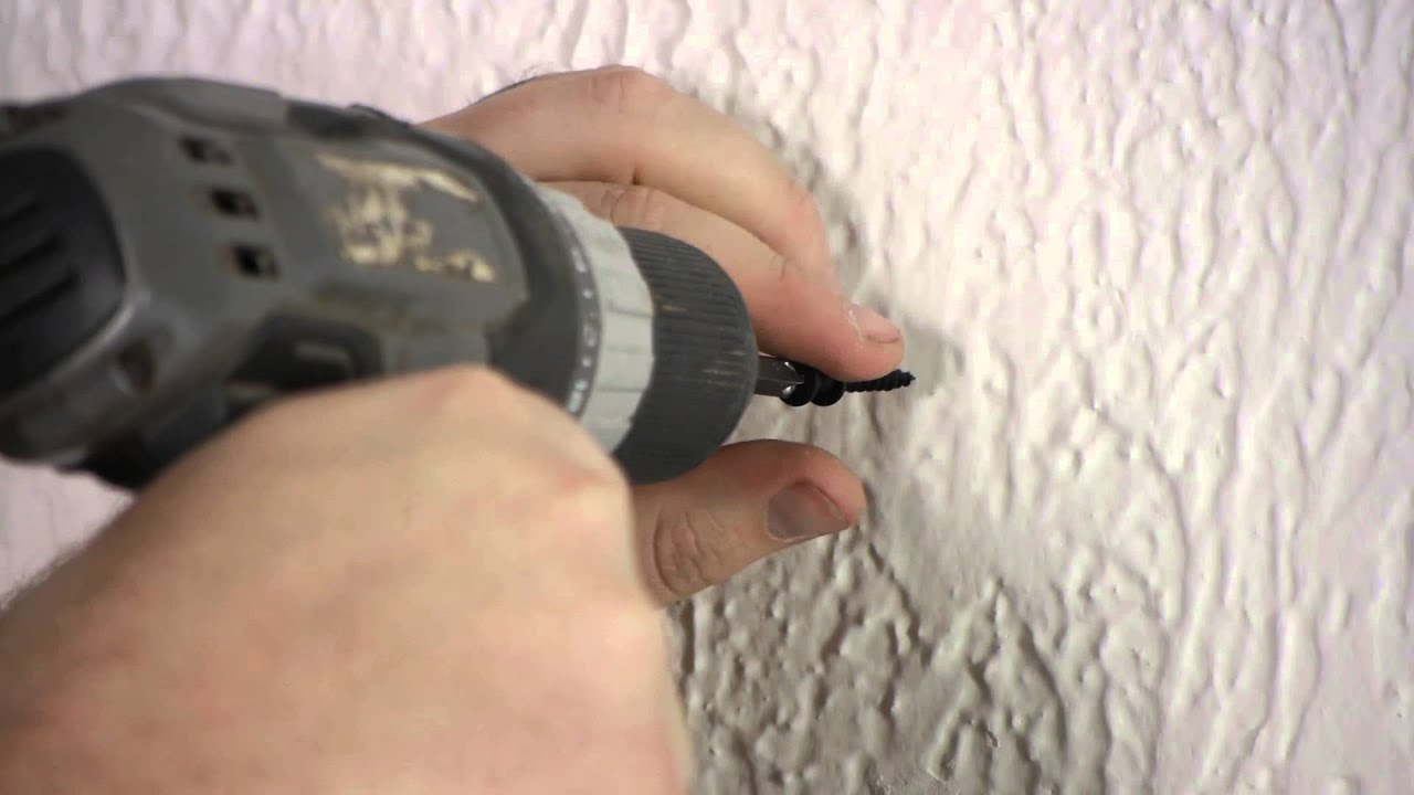 How To Use A Drill To Hang A Picture Nails Screws Amp Wall Hangings Youtube