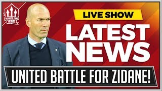 ZIDANE Offered Manchester United job with MOURINHO On Brink! Man Utd News