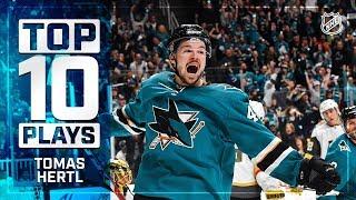 Top 10 Tomas Hertl plays from 2018-19