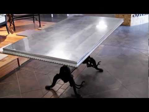 Custom Metal Tables by Bastille Metal Works