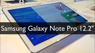 Video Samsung Galaxy Note Pro 12.2 Ce64w9Blgm8
