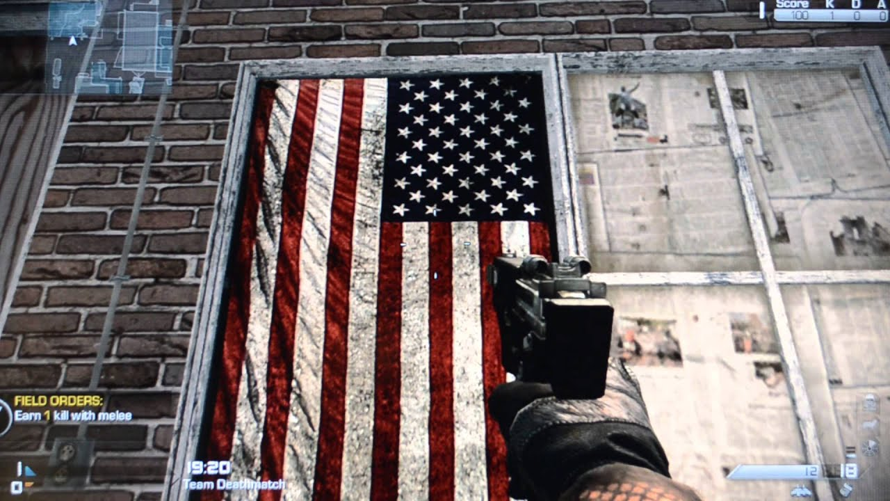 Call Of Duty Ghosts Hangs The American Flag Backwards Fail