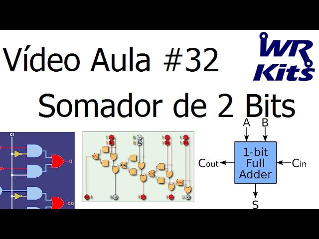 SOMADOR DE 2 BITS | Vídeo Aula #32