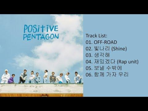 [Full Album] PENTAGON – Positive (Mini Album)