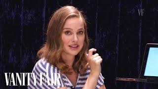 Natalie Portman Teaches You Hebrew Slang | Secret Talent Theatre | Vanity Fair