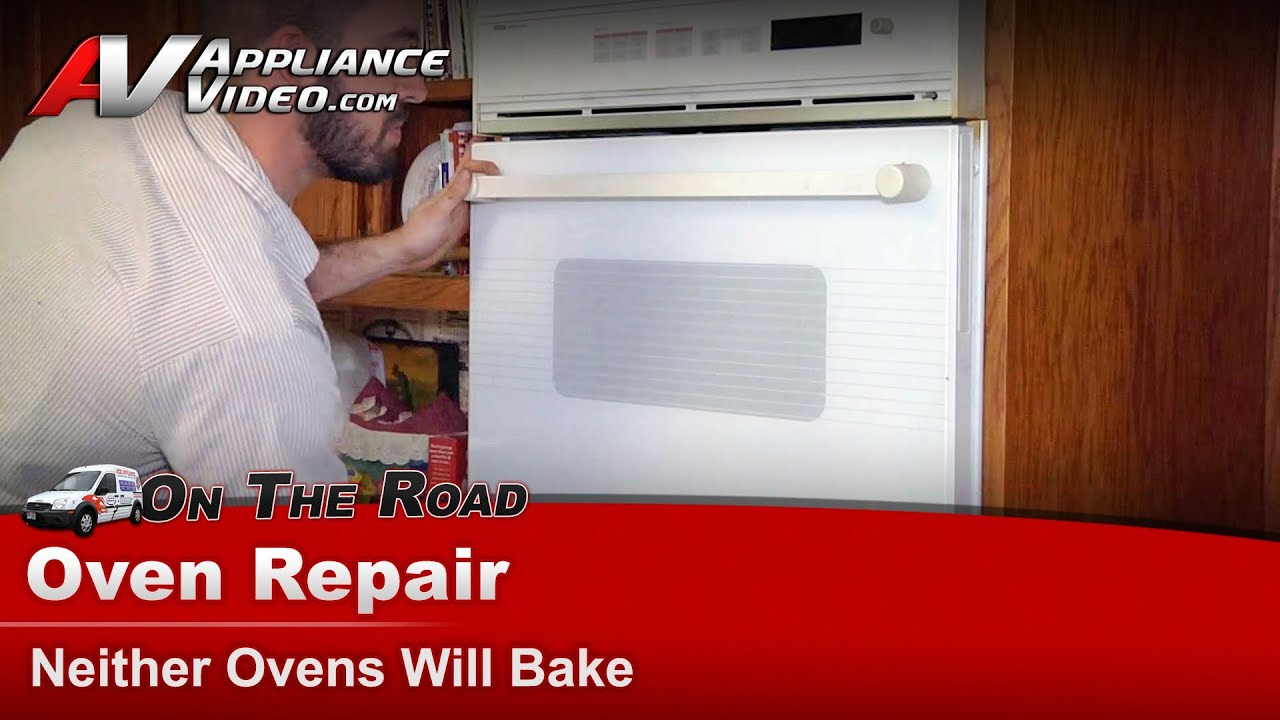 Whirlpool Wall Oven Repair Neither Ovens Will Bake