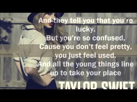 The Lucky One Lyrics - Taylor Swift