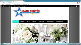 THIẾT KẾ WEBSIDE- Hướng dẫn làm Website Doanh Nghiệp 2 |VNT Chanel
