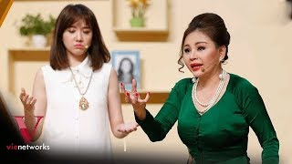 Lê Giang Hiện Hồn Về Dạy Hari Won Cách Nuôi Chồng Chăm Con   Hài Trường Giang 2018