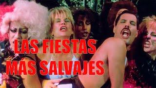 Las descontroladas fiestas de Freddie Mercury