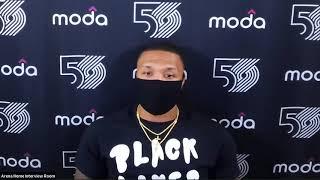 Damian Lillard Postgame Interview | Rockets vs Blazers | August 4, 2020
