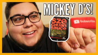 McDonald's Szechuan Sauce is BACK! - 2018 Food Review - Full Nelson Eats A Lot
