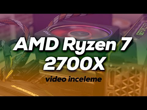 video Amd Ryzen 7 2700x