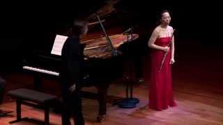 Sooyun Kim, Flute - Valse from Suite de Trois Morceaux Op.116 Benjamin Godard