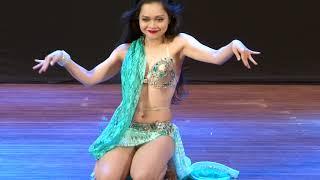 Lana Trần - SaigonDance - Việt Nam Belly dance Festival 2018 Gala Show