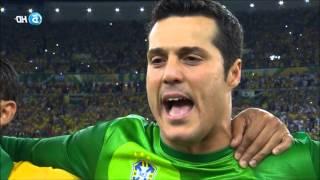 Hino Nacional Brasileiro Copa Confederações Brasil 3x0 Espanha