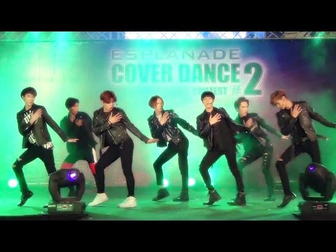 150426 Millenium Boy cover KPOP - WOW + The Hanging Tree + Call Me Baby @Esplanade (Semi)