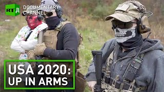 Antifa, BLM, Boogaloo bois: why armed protesters are preparing for civil war in America