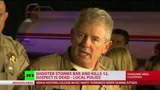 Deadly California shooting: Man stroms Borderline bar, kills 12, incl deputy sheriff