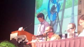 Comic Con: Cast of Regular Show part 2