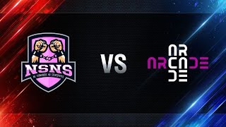 Превью: NS-NS vs Arcade eSports - day 3 week 5 Season I Gold Series WGL RU 2016/17