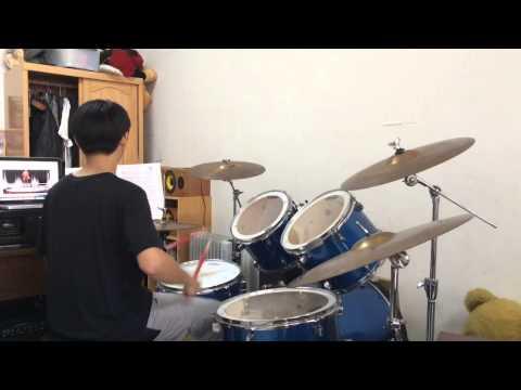蔡小虎 - 男人の堅持 (drum cover)
