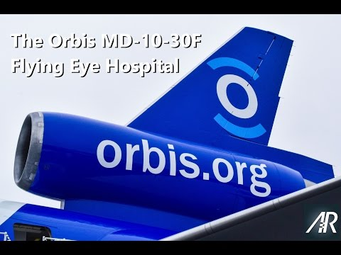 Tour of the Orbis MD-10 Flying Eye Hospital