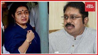 Jaya Legacy War : Deepa Jayakumar's Supporters Burn TTV Di..