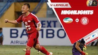 Tân binh tỏa sáng, Viettel đả bại TP. Hồ Chí Minh | Vòng 14 Wake-Up 247 V.League 2019 | VPF Media