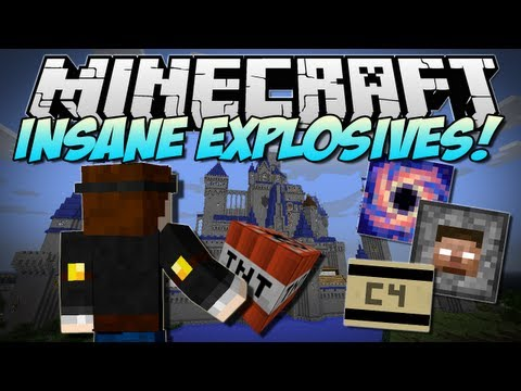 Minecraft   INSANE EXPLOSIVES! (Let's Blow Up DISNEY!)   Mod Showcase [1.5.2] - Smashpipe Games