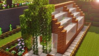 Minecraft - Gardening 101 - Greenhouse - Tutorial #2