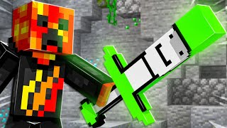 Minecraft But YouTubers are Swords...