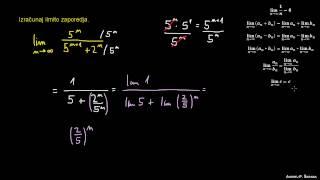 Računanje limite zaporedja 3