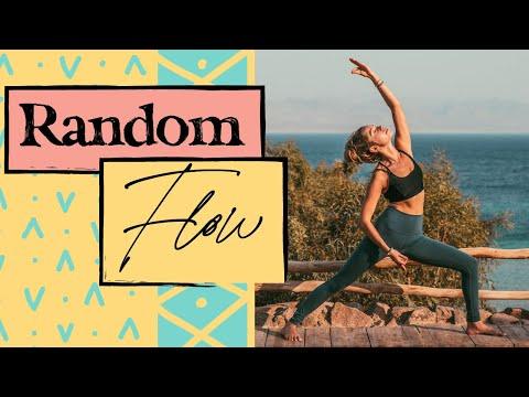 Full Body Yoga Vinyasa Flow - Random Flow | 15 minutes: Rise & Energize
