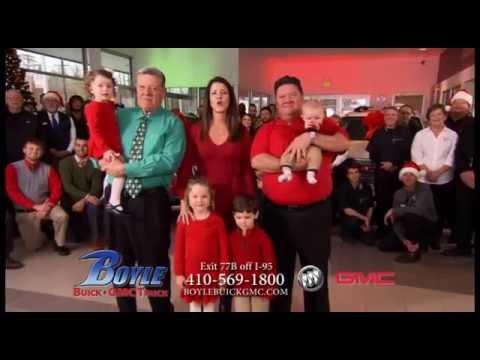 Happy Holidays from Boyle Buick GMC