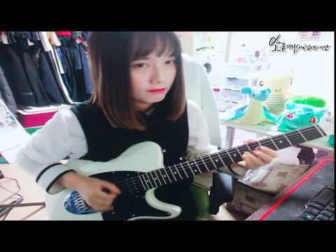 canon rock guitar 캐논 변주곡 기타 락버전 solo