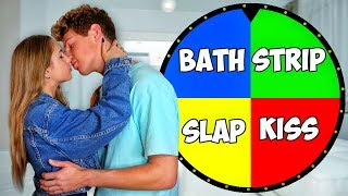 Spin The DARE Wheel Challenge w/ CRUSH! (crazy)