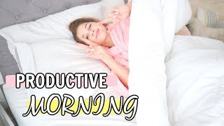 Busy MORNING ROUTINE | Get Productive with me!!