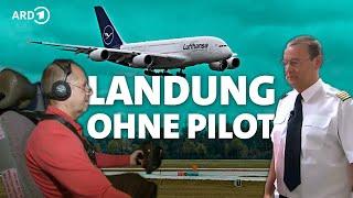 Kann ein Passagier im Notfall einen Linienjet notlanden? - ich bin nano - NANO - 3SAT