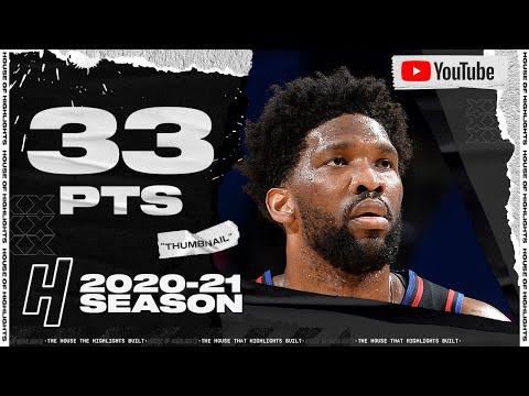 Joel Embiid 33 Points Full Highlights vs Nets | February 6, 2021 | 2020-21 NBA Season