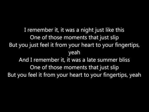 OneRepublic - Fingertips (lyrics)