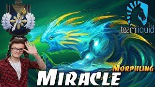 Miracle MORPHLING MID Gameplay - Dota 2 Gameplay
