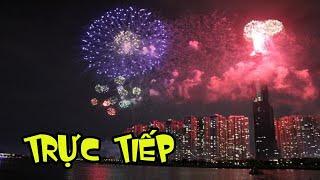 Trực tiếp bắn pháo hoa 2020 Hầm Thủ Thiêm Hồ Chí Minh | FIREWORKS 2020 and happy new year