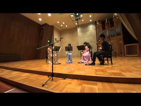 Tsukuba Saxophone Quartet - T.Escaich - Tango Virtuoso
