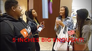 IS 5 INCHES INCHES ENOUGH !? | PUBLIC INTERVIEW