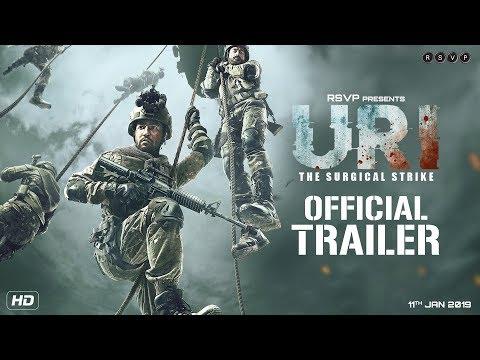 URI - Official Trailer - Vicky Kaushal, Yami Gautam, Paresh Rawal - Aditya Dhar